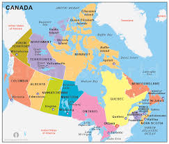 states canada map states in canada map major tourist attractions maps