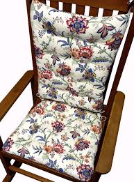 patio furniture black friday sale jacobean gem red colonial floral rocking chair cushions latex