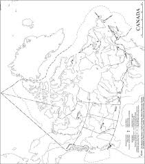 blank political map of canada map paragon compiled by david spencer