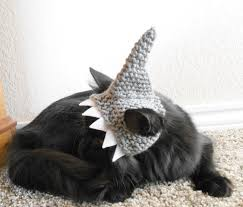 Pet Cat Halloween Costumes Knit Cat Shark Hat Crochet Shark Hat For Cats Halloween