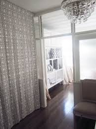 diy curtain room divider ideas a home decoration improvement
