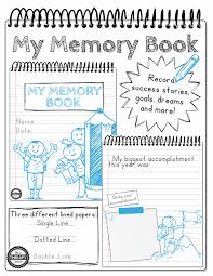 my memory book handwriting and drawing practice your therapy