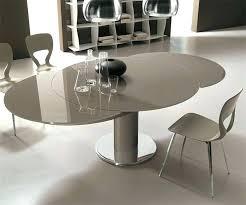 table de cuisine ronde en verre table de cuisine pied central table de cuisine ronde en verre pied