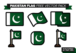 Flag Of Pakistan Pics Pakistan Flag Icon Set B Download Free Vector Art Stock