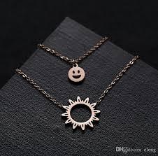 elegant pendant necklace images Wholesale 2018 women elegant pendants necklaces suit hip hop jpg