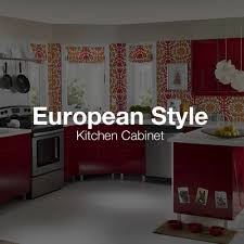 European Style Kitchen Cabinets by Greencastle Cabinetry