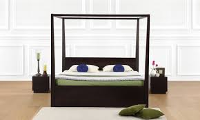 buy beaumont four poster bed king online in india livspace com
