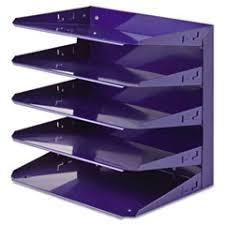 Purple Desk Organizers The Supplies Guys Desk Trays Desk Accessories Workspace