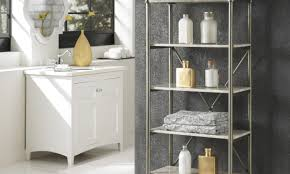 Narrow Bathroom Storage Cabinet by Narrow Bathroom Cabinet Symphony Tall Floor Cabinet White Elegant