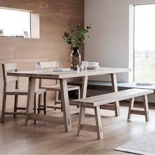 Dining Table Oak Furniture Zen 6 Seater Oak Dining Table 2 Delightful Modern 3