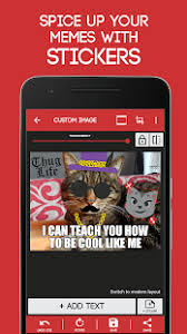 Free Meme Generator App - meme generator free apps on google play