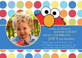 elmo birthday invitations template ideas