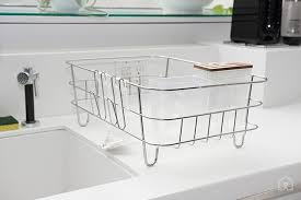 dish drainer for small side of sink dish drying rack for small spaces minimalist home architecture