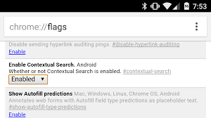 Chrome Flags Android Bring Back Touch To Search In Chrome For Android With This Setting