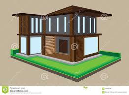 vector modern house design stock vector image 56869741