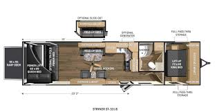 Small Travel Trailer Floor Plans by Motorsport 26 Foot Toy Hauler Google Search Diy Full Time Rv