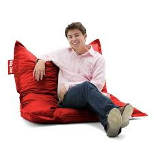 Cheap Oversized Bean Bag Chairs Amazon Com Big Joe Original Bean Bag Chair Flaming Red Kitchen