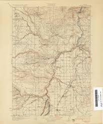 Oregon Maps Genealogy Trails Wasco County Oregon Maps