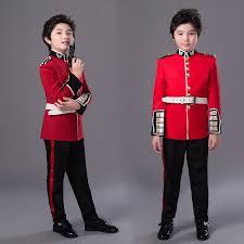 halloween costume for children british royal guard uniform boys