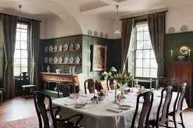 Arts And Crafts Dining Room Set by Standen West Sussex England Philip Webb Architect 1894 Photo