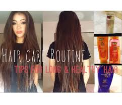 how long for hair to grow out of inverted bob hair care routine tips for growing long and healthy hair youtube