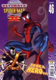 ultimate spider man men volume comic vine