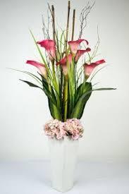 Orchid Flower Arrangements Large Artificial Floral Arrangements Foter