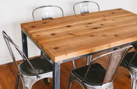 chairs unfinished wood dining table that perfect for room