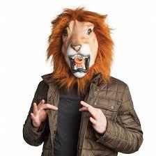 lion mask lenny the lion mask bigmouth inc