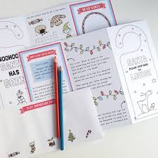 cloud writing paper letter to santa small activity card personalised by cloud 9 letter to santa small activity card personalised by cloud 9 design notonthehighstreet com