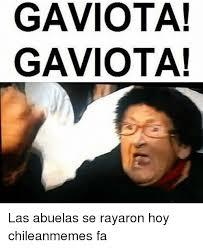 Chilean Memes - gaviota gaviota las abuelas se rayaron hoy chileanmemes fa