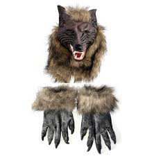 wolf halloween costumes amazon com cosplay party mask werewolf skull halloween wolf head