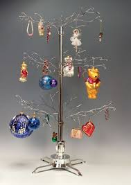 ornament trees rotating large squiggley branches ornament