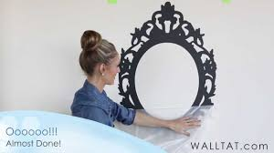 bedroom interesting wall mirror design as wall tat ideas in your
