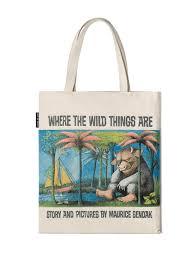 wild tote bag u2013 print