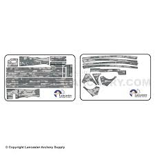 genesis bow digital camo decal kit