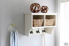 Bathroom Shelve Diy Bathroom Shelf The House Of Wood