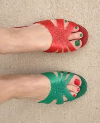spygirl foot friday complementary color edition