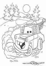 free disney cars christmas coloring pages pictures coloring free