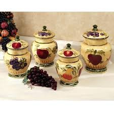 pottery canisters kitchen kitchen canister sets flour canisters kitchen containers glass jar