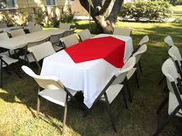 table and chair rentals prices rentals tables chairs chafing dishes tablecloths linen prices and