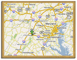 map us baltimore welcome to skyline caverns