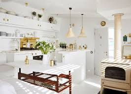 85 best small space design images on pinterest brass kitchen