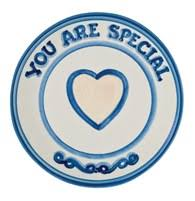 you are special plate hadley pottery valentines day stoneware