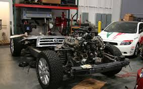 build your toyota antron brown and chuck wade team antron toyota dream build