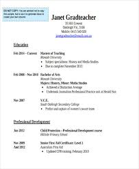 Teacher Resume Sample U0026 Complete by 20 Education Resume In Pdf Free U0026 Premium Templates