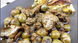 recettes cuisine simple tajine de poulet et aux olives façon marocaine miss malakoff