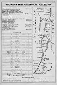 Spokane Map The Spokane International Railroad