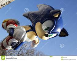 sonic balloon in macy s parade editorial photography image 22255587