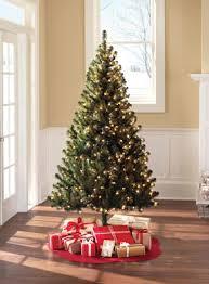 walmart pre lit 6 5 colorado pine tree clear lights
